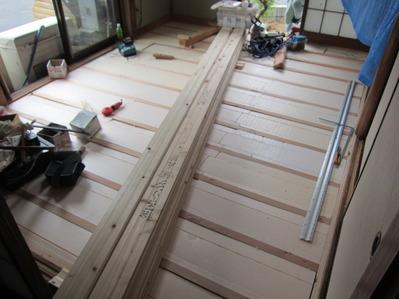 和室6帖床板施工前.JPG