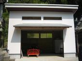 清潔感あるデザイン農業用倉庫が完成しました。