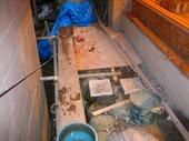 伊豆修善寺にある老舗旅館の坪庭工事が完成しました