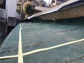 熱海市小嵐町の旧浪漫邸屋根の修理